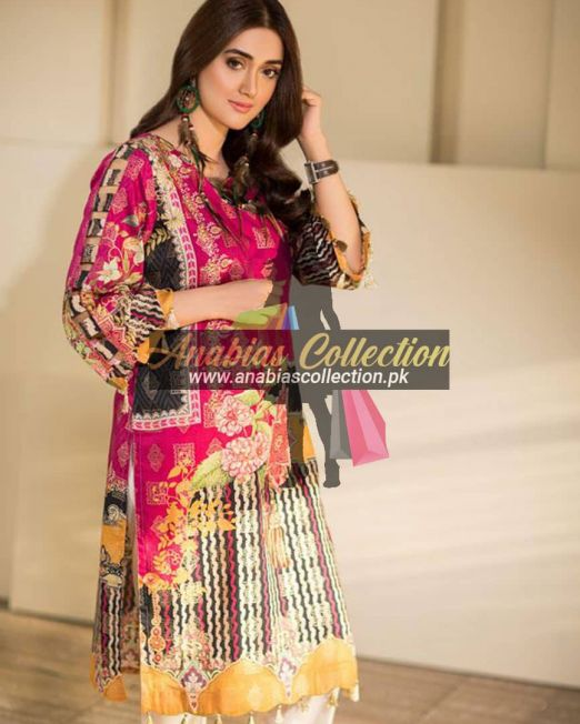 Digital-Chevron-Jacquard-Banarsi-Tunic-Kurties-Collection-D-03