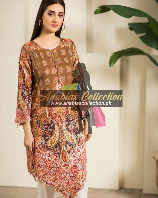 Digital-Chevron-Jacquard-Banarsi-Tunic-Kurties-Collection-D-04