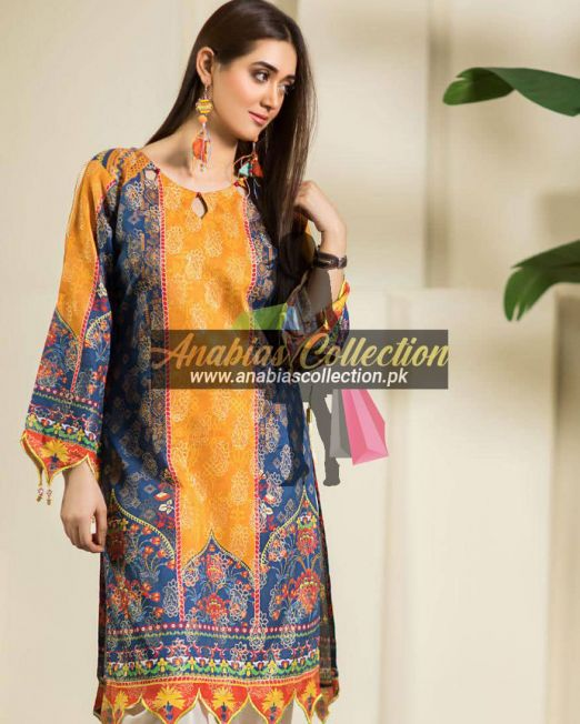 Digital-Chevron-Jacquard-Banarsi-Tunic-Kurties-Collection-D-07
